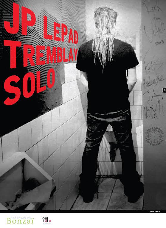 JP LePad Tremblay en tournée