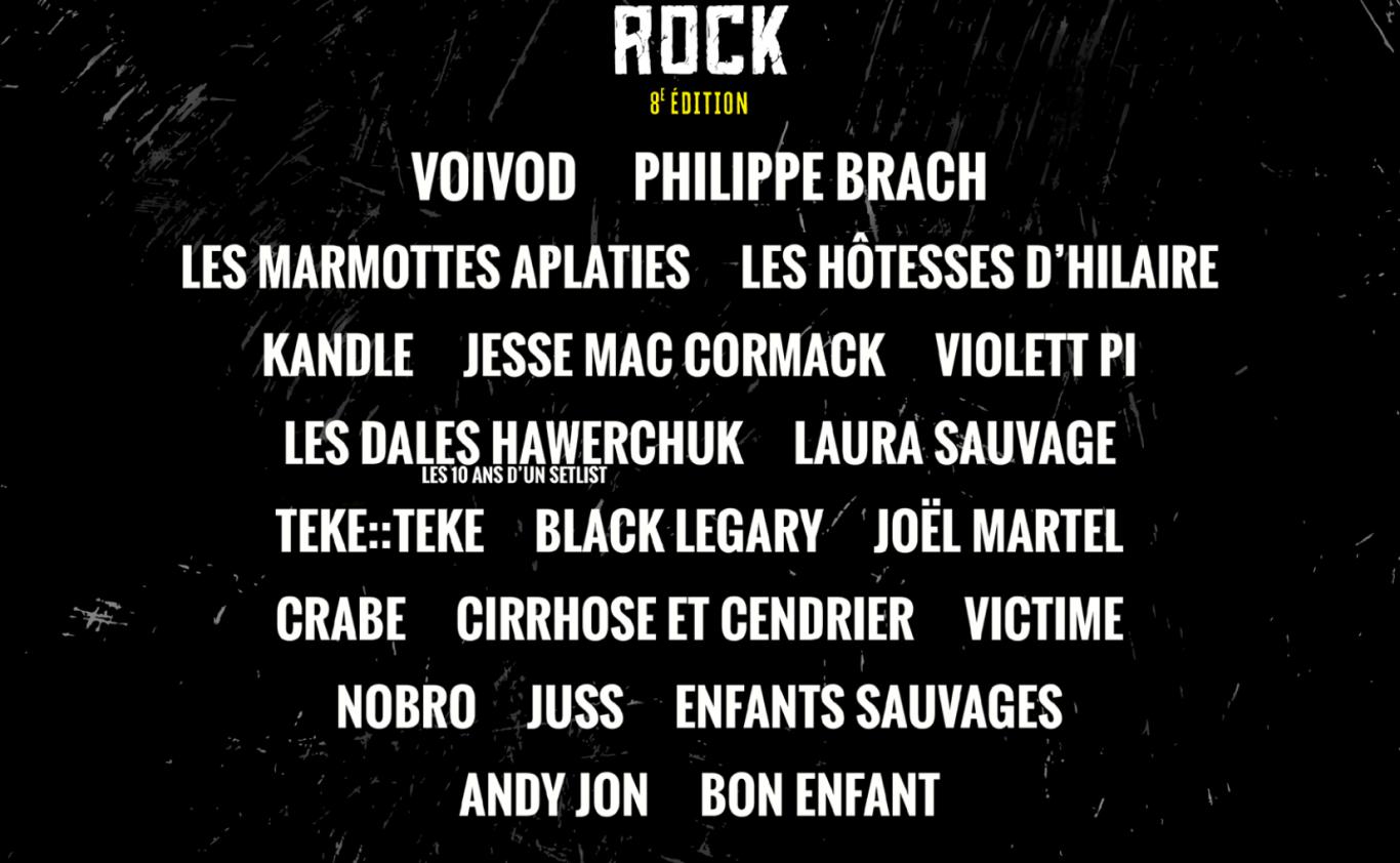 Ligue Rock 8 : Ça s'en vient !