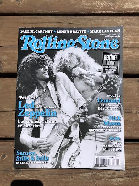 Spectacles Bonzaï dans le Rolling Stone